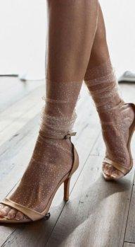 Come vedete l'effetto seta che il piede acquista é magico.