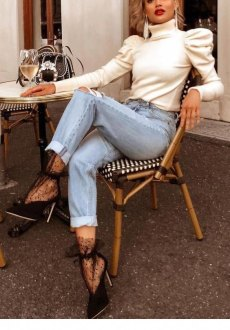 Outfit più casual.